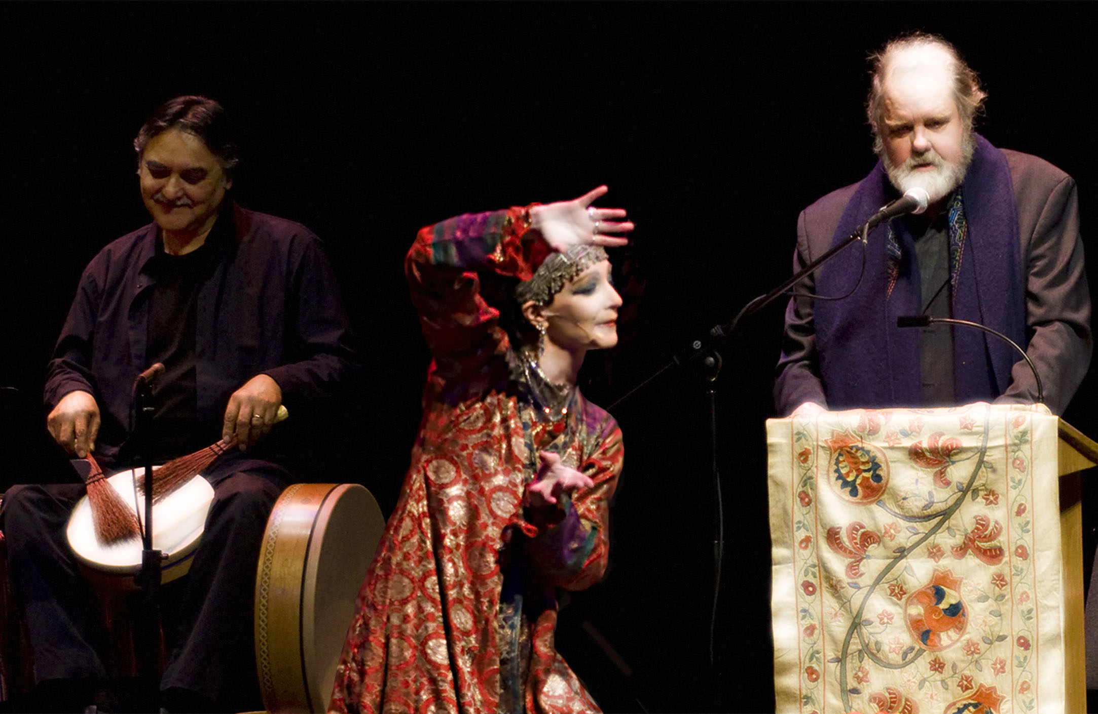 Rumi Concert with Coleman Barks, Zuleikha and Glen Velez